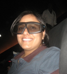 Me in 3D glasses